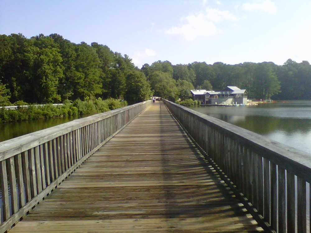 LAKE JOHNSON PARK, RALEIGH