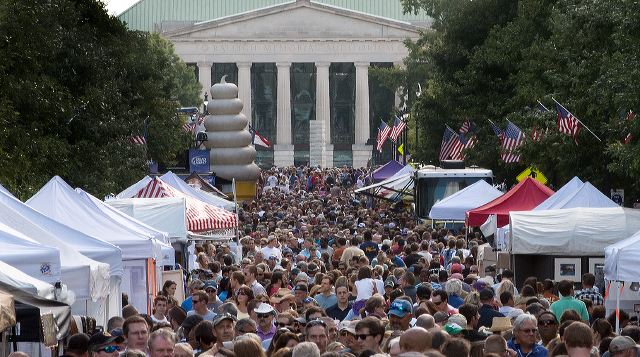 ONE OF THE MANY FESTIVALS IN RALEIGH