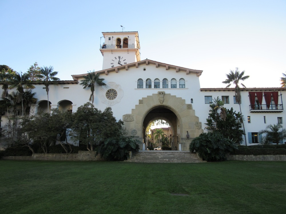 THE SANTA BARBARA COURTHOUSE