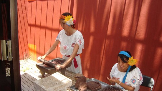 VIEW CHOCOLATE MAKING IN THE PROCESS IN VALLADOLID (PHOTO COURTESY OF TRIP ADVISOR)