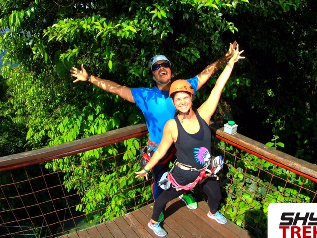 OVERCOMING MY FEAR OF ZIP LINING IN COSTA RICA