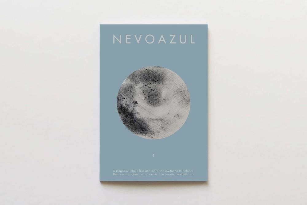 Capa da primeira edição da NEVOAZUL