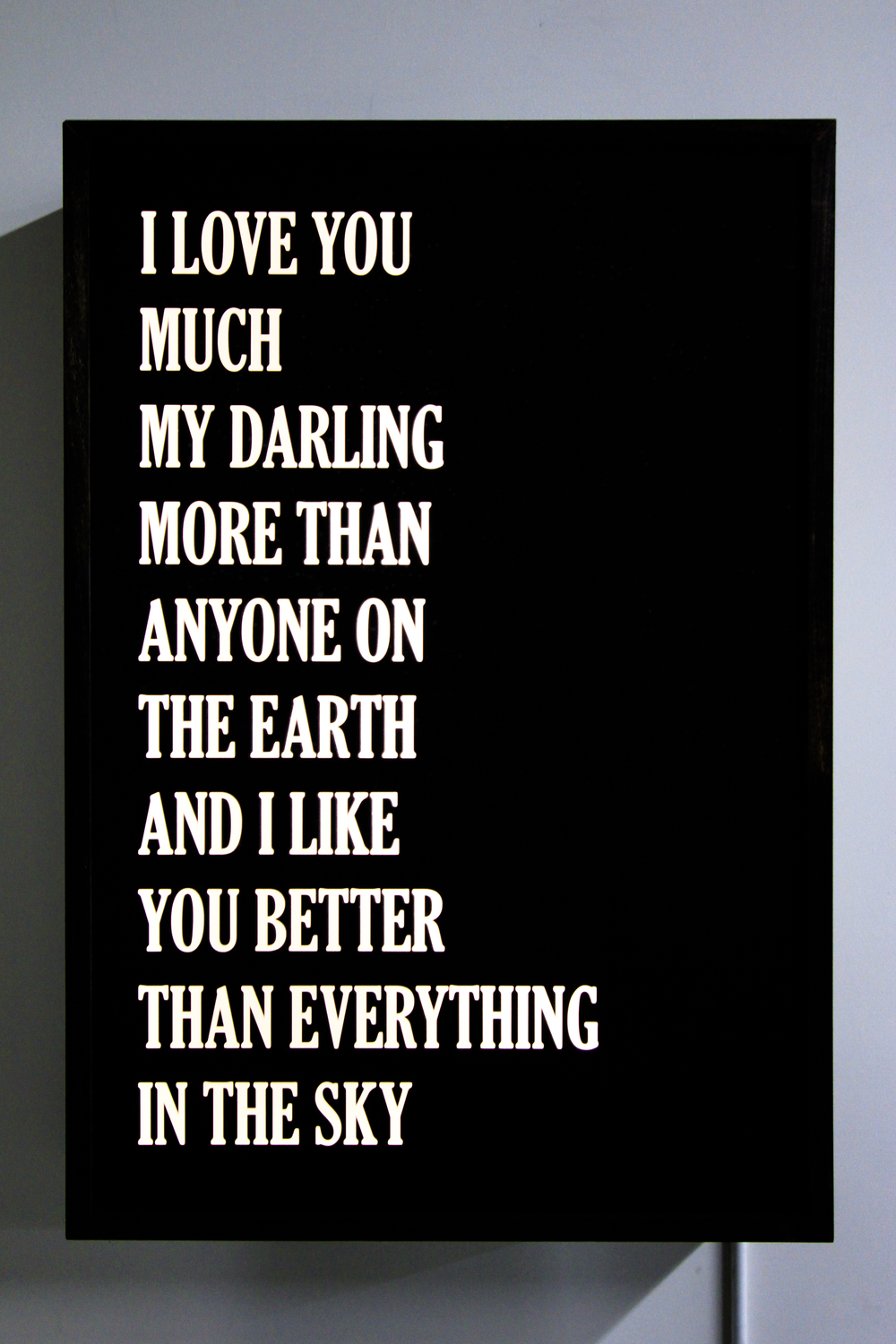 I Love You Much My Darling
