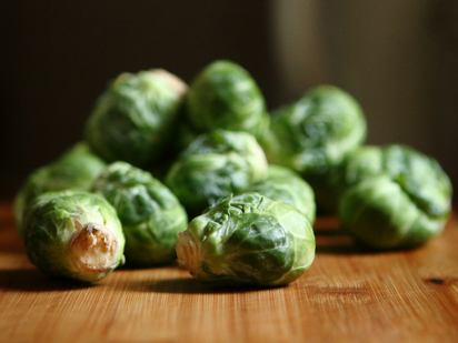 Brussel sprouts - a cruciferous vegetable (photo by  Keenan Loo )