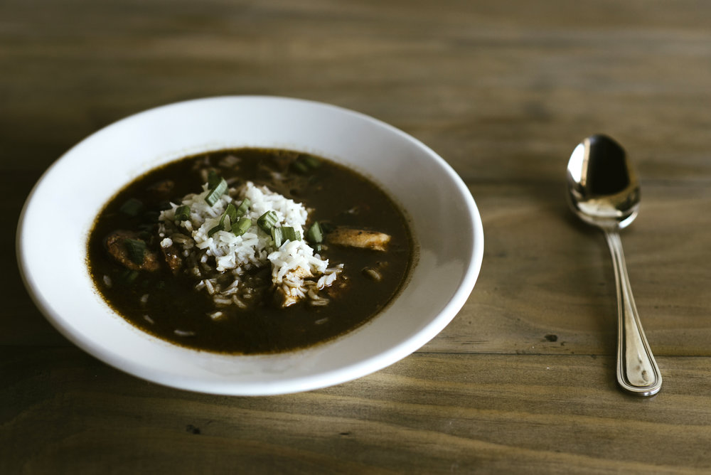 Eliza Restaurant | Gumbo Ya Ya (Photo Credit: Allie Appel)