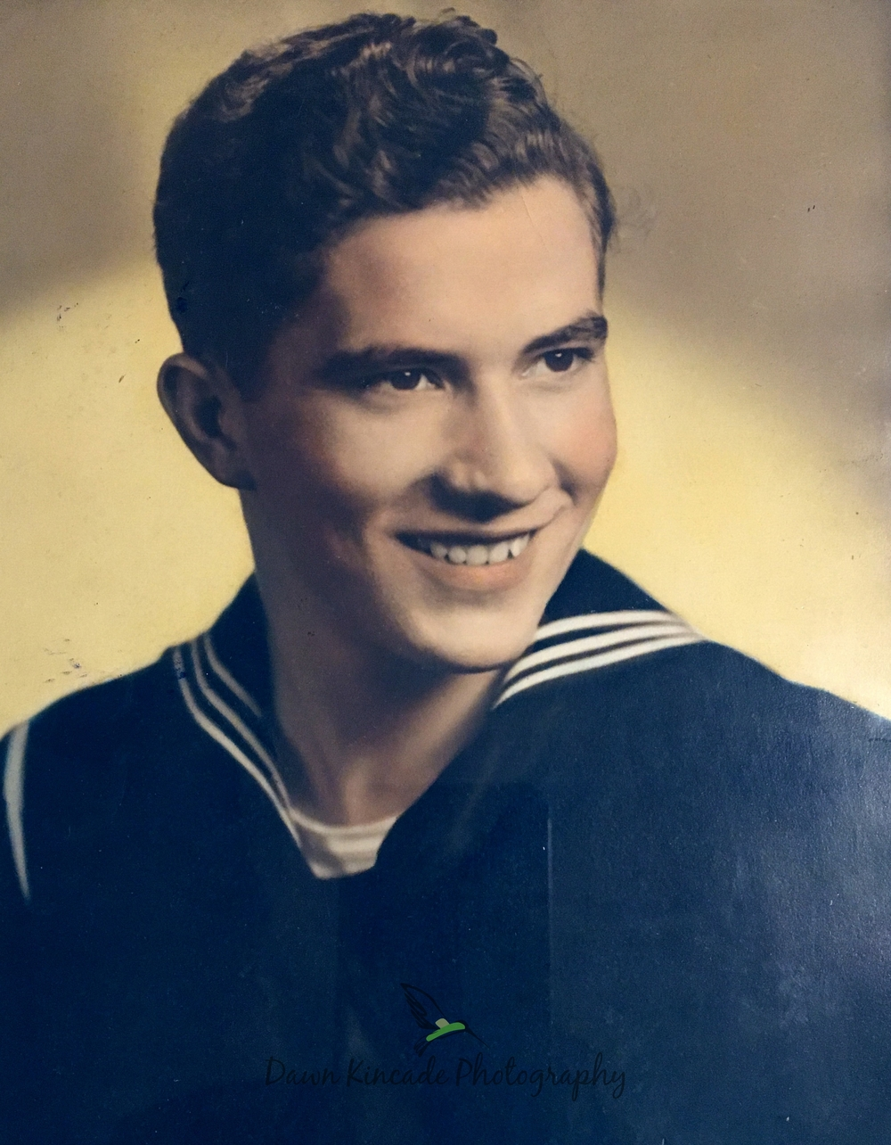 My Dad's Navy snapshot. This is not my photo but a scanned copy. Photo credit to the Navy.
