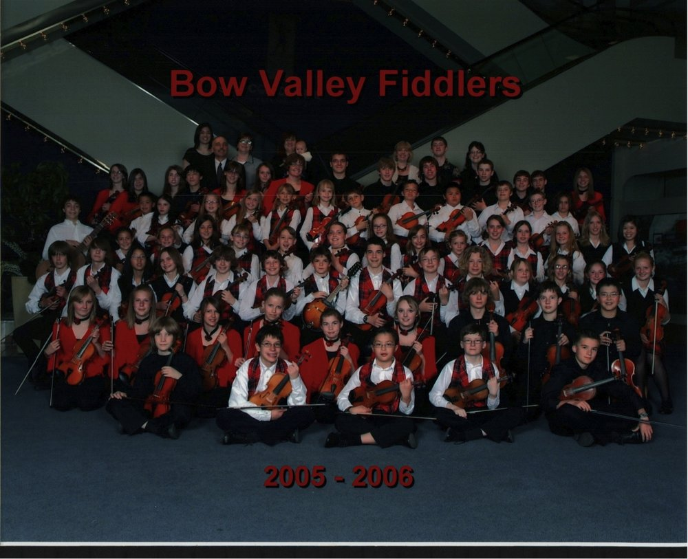 2006-12-15 Bow Valley Fiddlers-New Uniforms.jpg