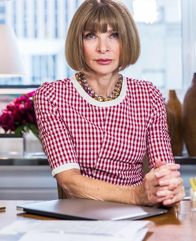 This week our Inspiring Creative Women of the week is the stronger Anna Wintour because she is a legend.  Dame Anna Wintour is a Bristish-American journalist and editor. She has been editor-in-chief of Vogue since 1988. With her trademark pageboy bob haircut and dark sunglasses, Wintour has become an important figure in much of the fashion world.  #womanofthemonth #womenoftheweek #inspiringwomen #businesswoman #business #fashion #fashionworld #createabusiness #inspiration #futurisfemale #annawintour #bossoffashion #makersgonnamake #pictureoftheday #entrepreneur #entrepreneurship #entrepreneurlife #entrepreneurwoman #womens #woman