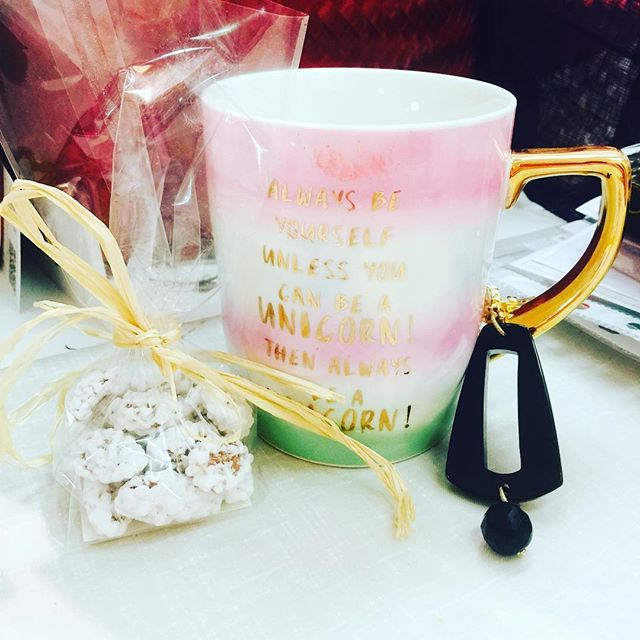Don't you just love a Unicorn mug! Gifts from my lovely friends.  #keepsmiling #femaleentrepreneur #femaleentrepreneurmovement #blog #bloggerlife #entrepreneur #inspiringcreativewomen #yougogirl #womeninbusiness #womenentrepreneurs #entrepreneurlife #letsgetcreative #bosslady #strongwomen #blogerlady #workfromhomemom #inspirational #networkmarketing #entrepreneur #bloggerstyle #workingwoman #changemycareer #newcareerpath #womanofthemonth #inspiringwoman