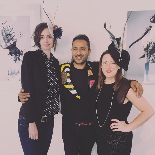 We had a great day today visiting the Wonderful EXOSKELETON exhibition, by renowned fashion photographer and artist Ram Shergill We loved it!  #art #gallery #photography #ramshergill #exhibition #oxotower #southbank #millinery #katherineelizabethmillinery #inspiringcreativewomen