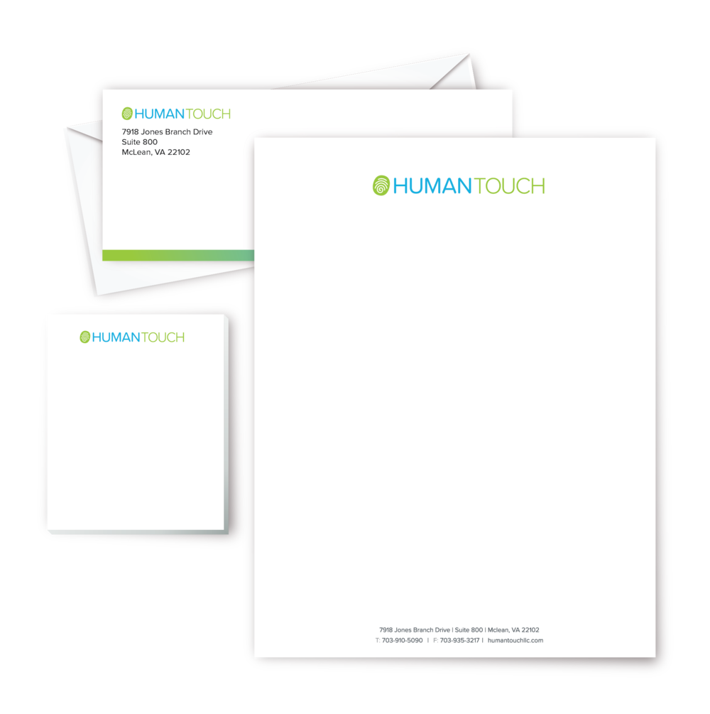 Letterhead, Envelopes and Note cards