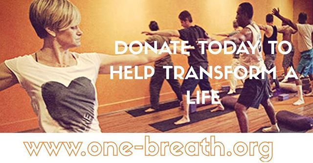 If you are passionate about #socialchange, please visit our website: www.one-breath.org and make your tax-deductible donation to help us in our work of transforming lives One Breath at a Time.
