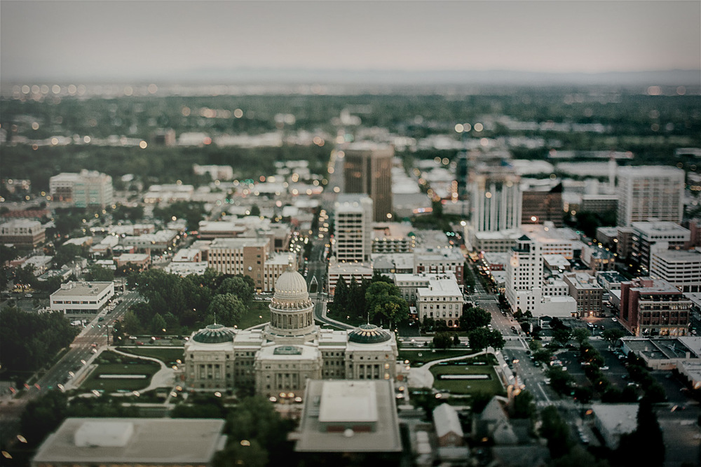 An image of downtown Boise, Idaho