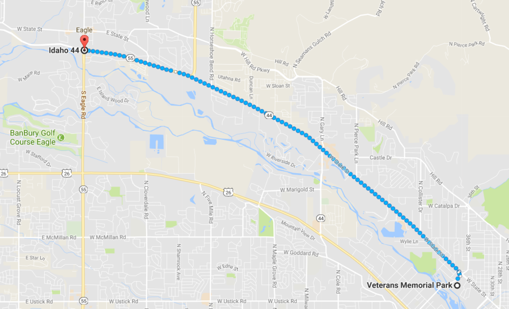 Google Maps Route Link
