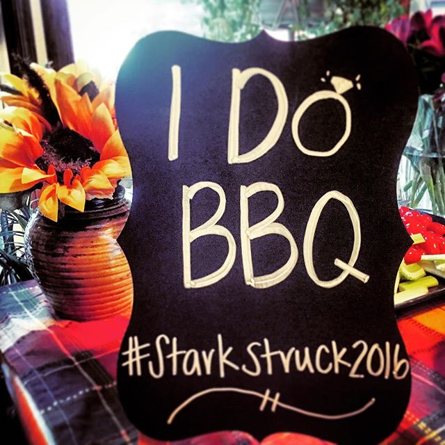 Loving the 'I do' BBQ!!!! #starkstruck2016