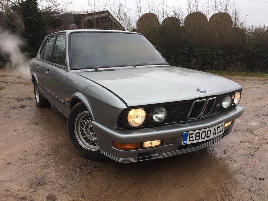 BMW E28 M535i restoration