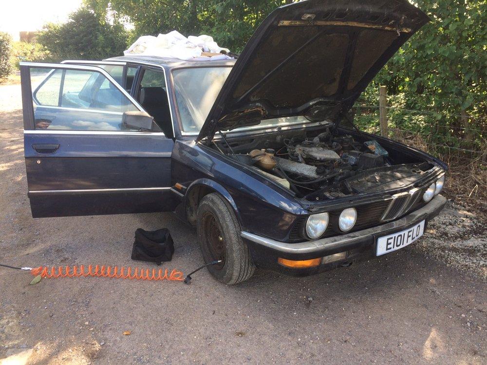 BMW E28 restoration for sale