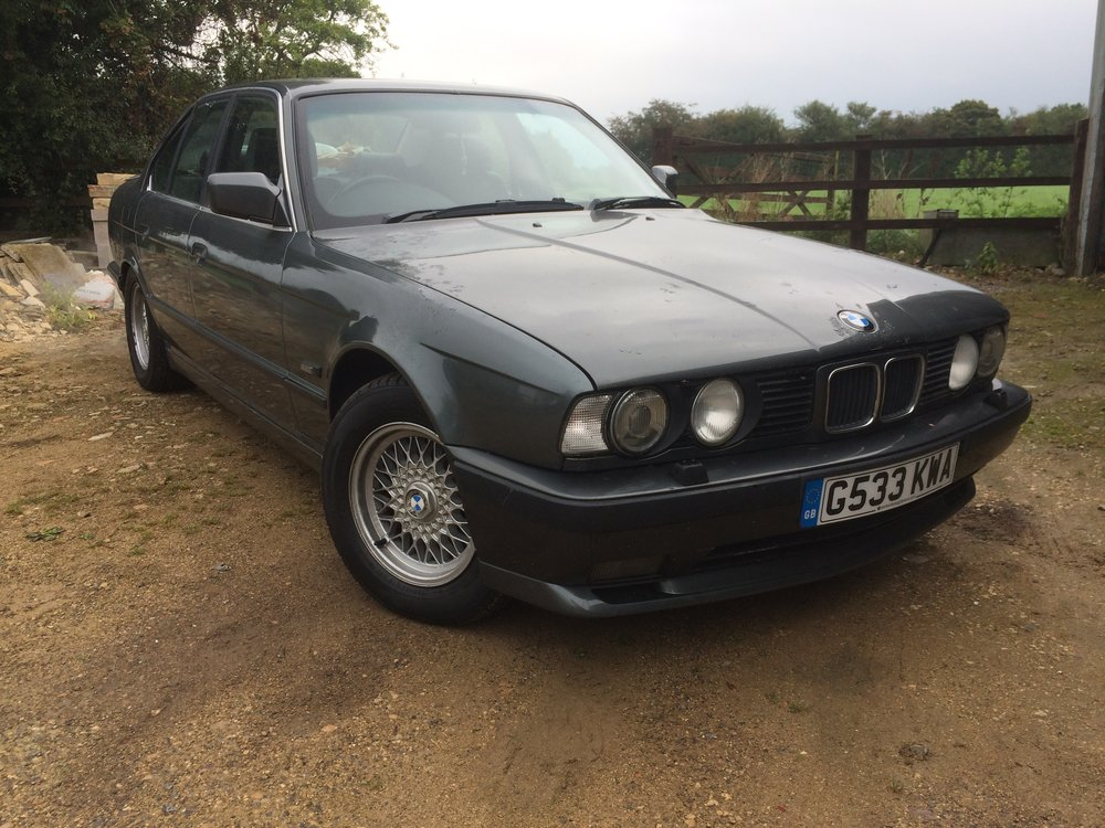 E34 535i sport manual dolphin grey for sale UK