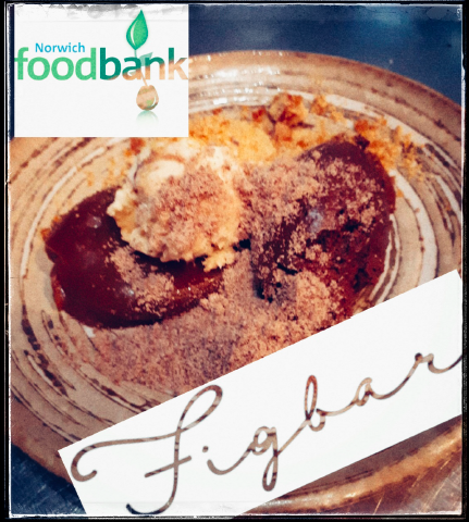 Figbar Teams Up with Norwich foodbank