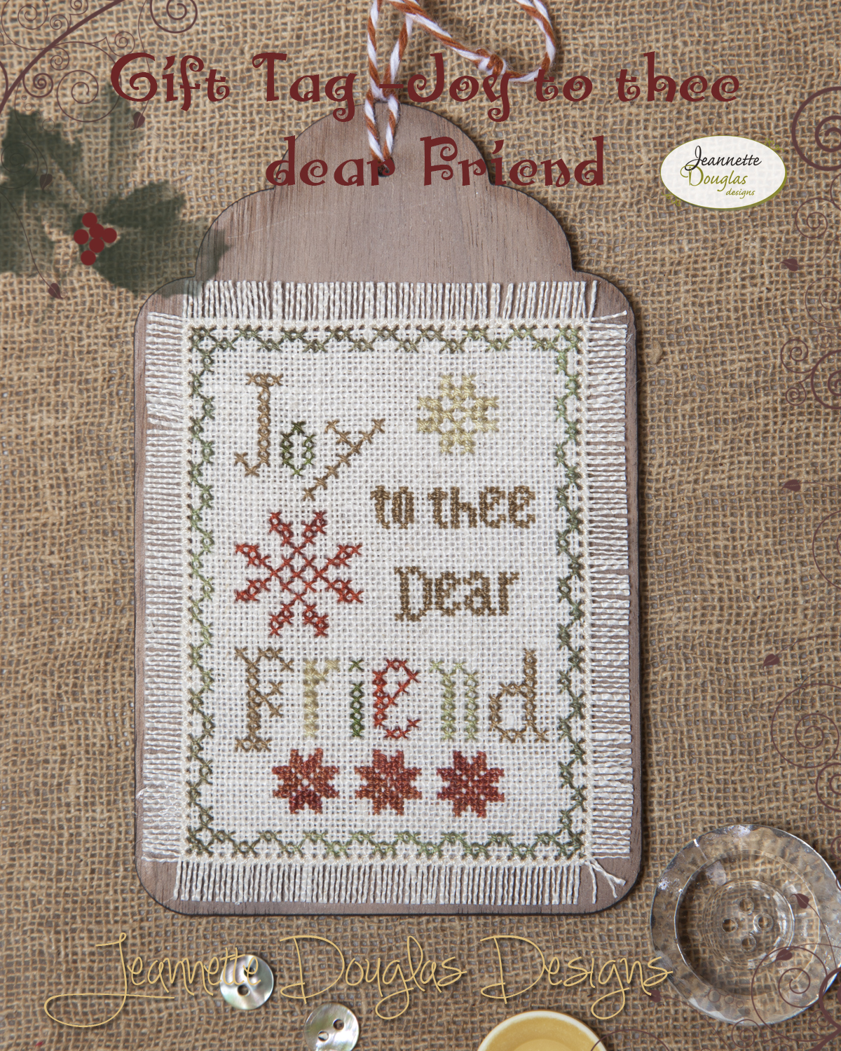 Gift Tag - Joy to thee dear Friend