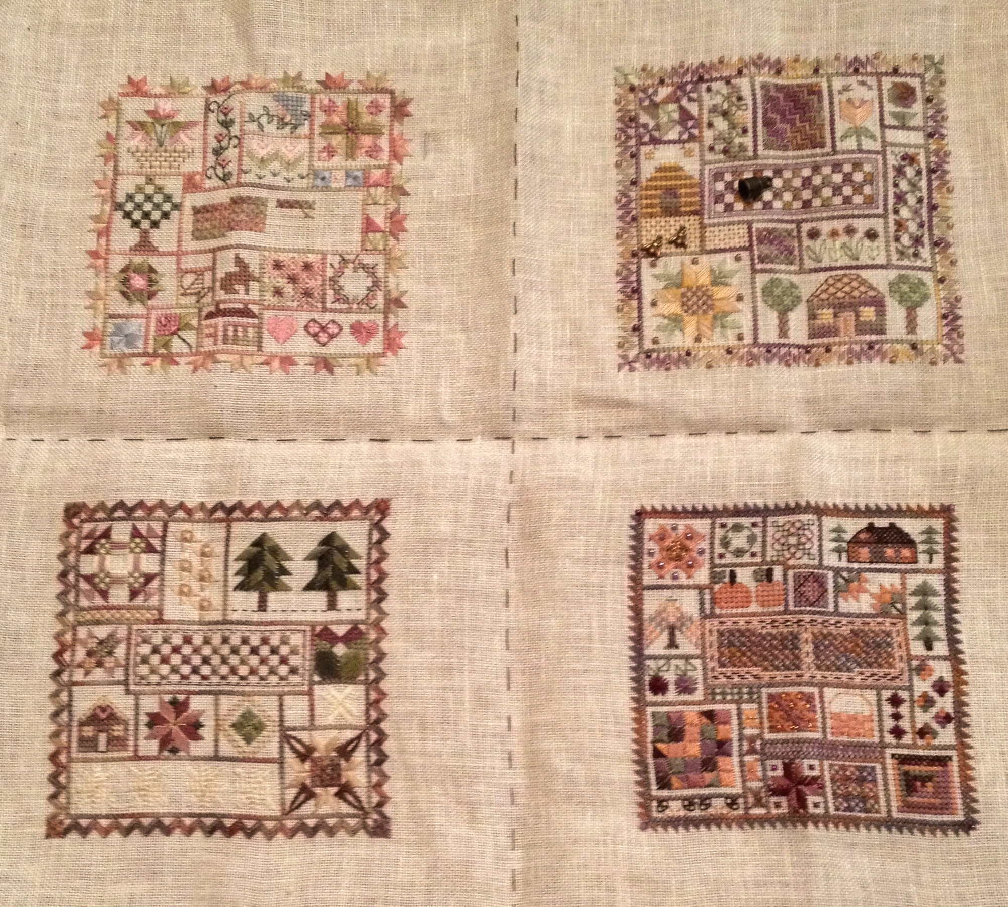 Take time to quilt x 4