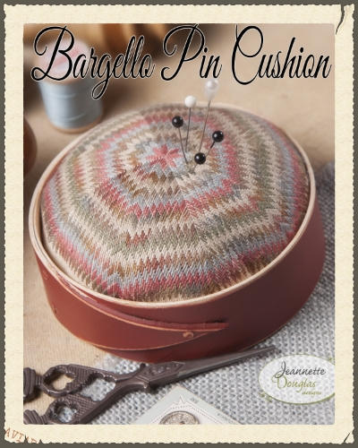 Bargello Pincushion