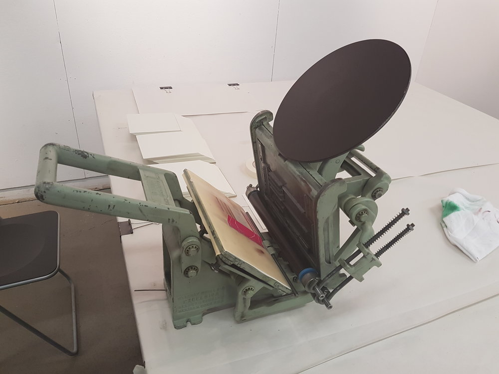 Hand Letter Press
