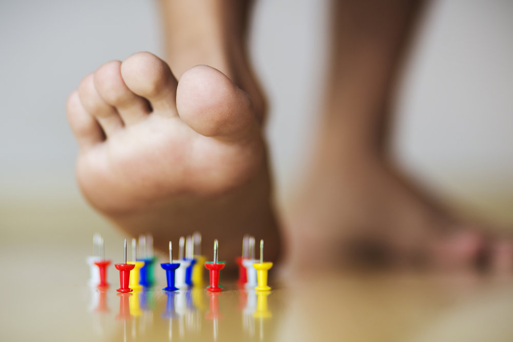 If your feet feel like this you are most likely suffering from Neuropathy