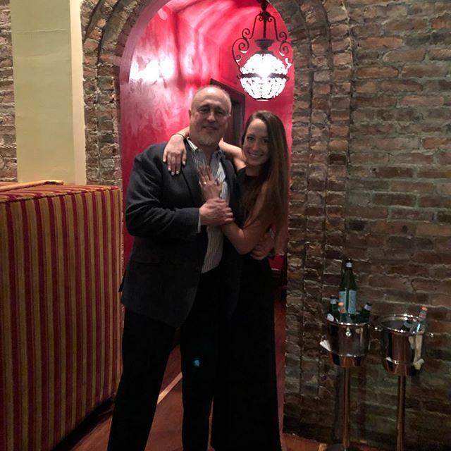 Ok Dr Jon's Stephanie is engaged!! Celebration in Jersey  City #simplychirobernardsville