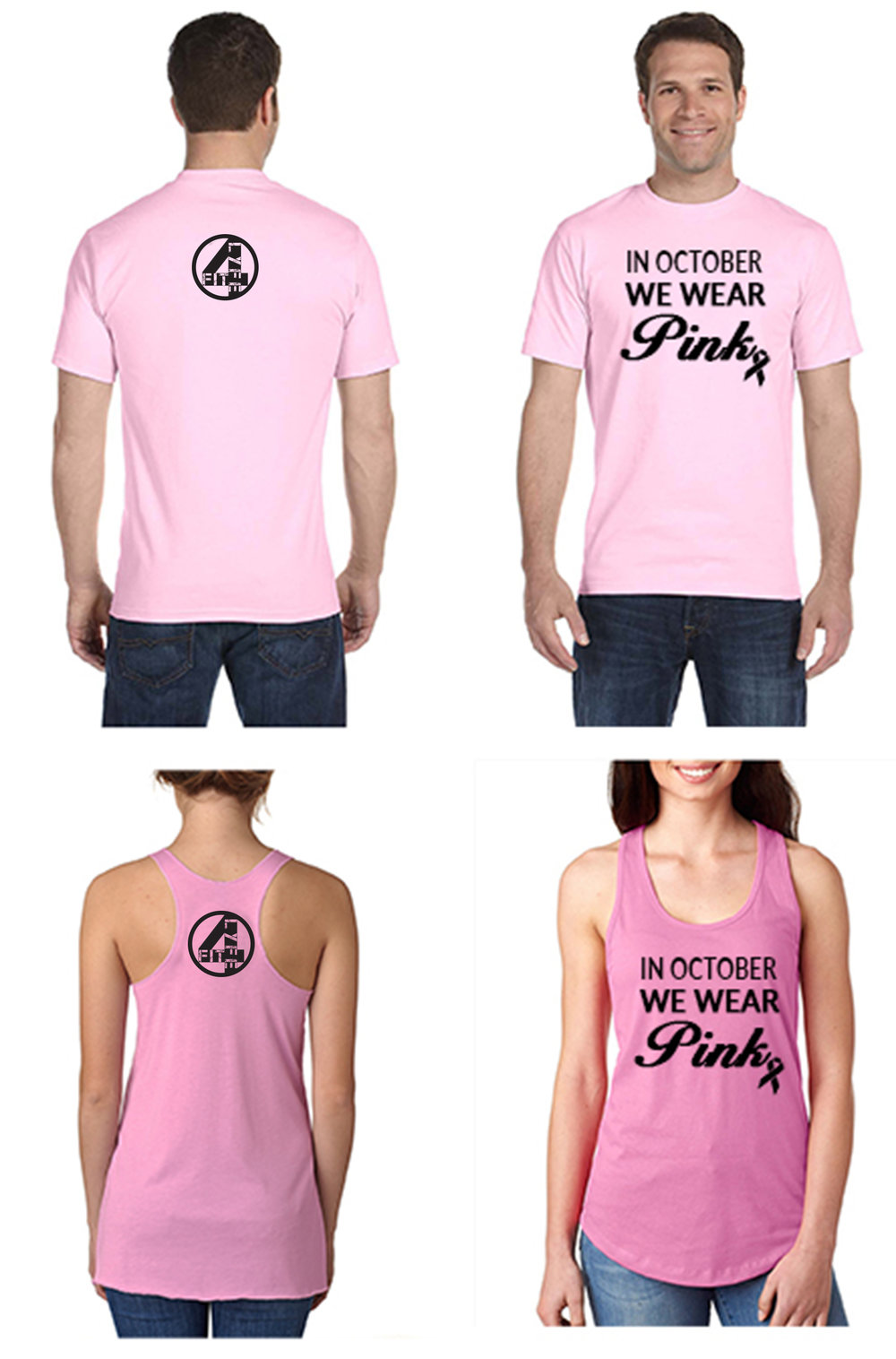 Fit4Lyfe is going PINK in October! Click picture to PREORDER your shirt/tank!