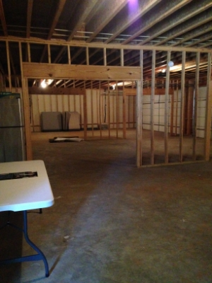 And there is even room to grow! Our basement will provide space to expand in the future, as well as house our future Clothes Closet.