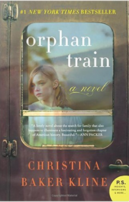 Orphan Train  by Christina Baker Kline   Orphan Care