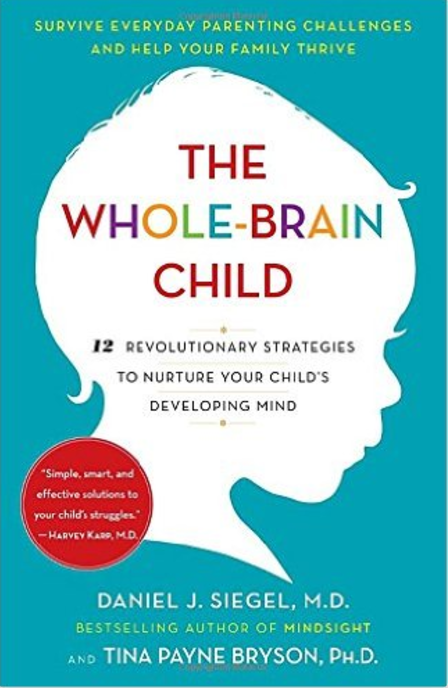 The Whole Brain Child  by Daniel J. Siegel, M.D., and Tina Payne Bryson, PhD.    Raising Children
