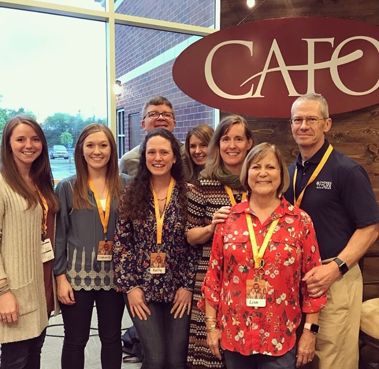 Our staff and fellow board members had an amazing few days at the CAFO Summit. This was a great time for our team to grow together in our knowledge of resources as we strive to offer them to our community!