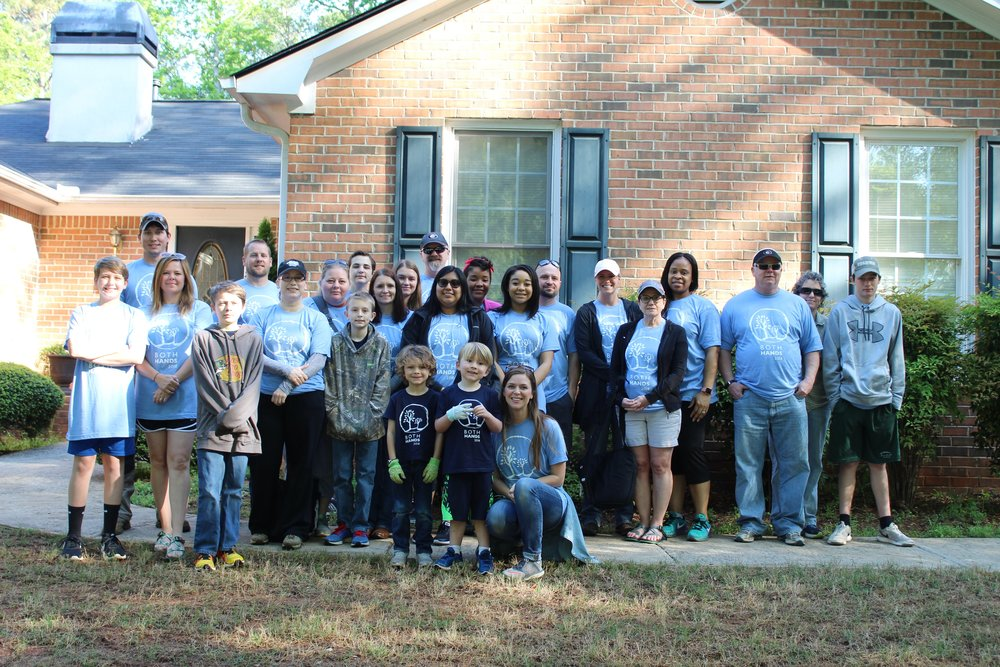 Project Number 5 - Volunteer team from Akins Ford!