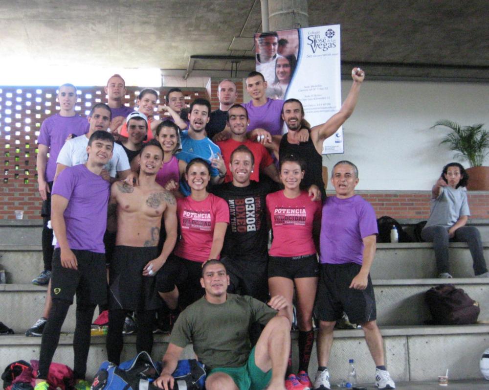 Fuerza Crossfit 2011, Medellin, Colombia.
