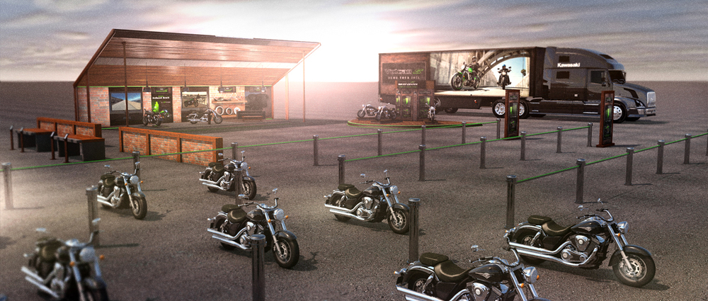 Vulcan S Dealership Meeting Booth Set Up Idea