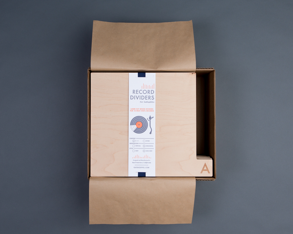 Retired packaging: Letterpress labels in use