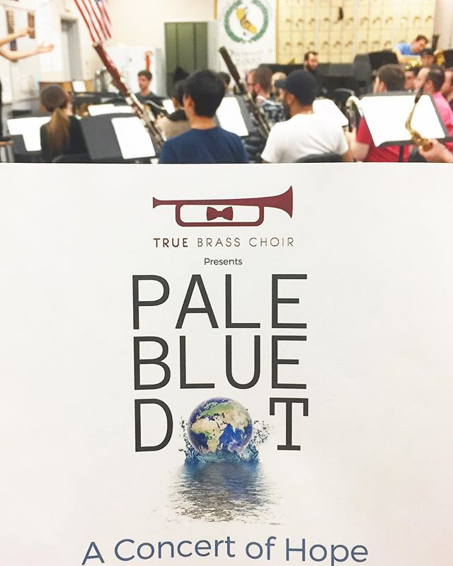 """Pale Blue Dot: A Concert of Hope"" 🌎 Sunday, June 11 at 8pm. Join us at the @aquariumpacific !  ___________________________________  Link for tickets in our bio!  #TrueBrass #PaleBlueDot #LongBeach #ThisIsLB #ParisAgreement #LocalMusic #AquariumofthePacific #LongBeachMusic #Music #CarlSagan #WindEnsemble #SoCalMusic #SoCalBands #WestCoast #Concert #Hope #Activism #Brass #Woodwind"