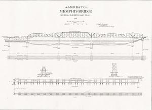 Harahan bridge history and big river crossing development big originaldrawing1 copyg malvernweather Choice Image