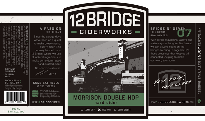 Morrison Double-Hop Label