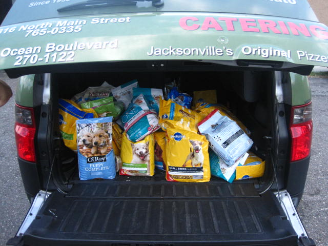 Food drive for No More Homeless Pets