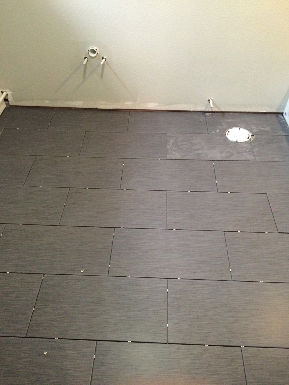 Home Depot floor tile