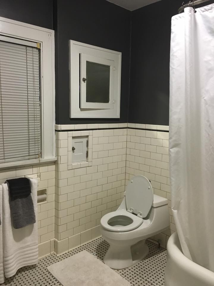 After image of the original bathroom