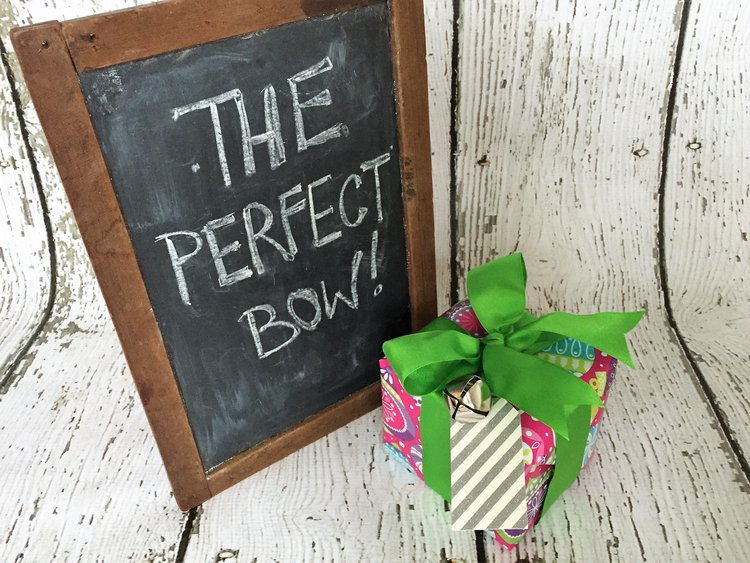 The perfect Christmas bow