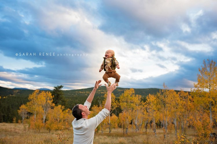 Family photos with Denver family photographer, Sarah Lechner.