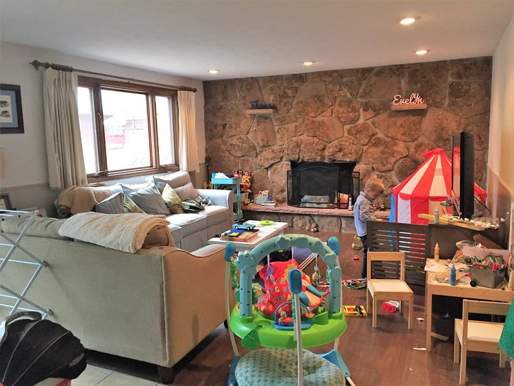 Easy tips to organize your childrens playroom   Building Bluebird #organization #declutter #playroom #minimalism