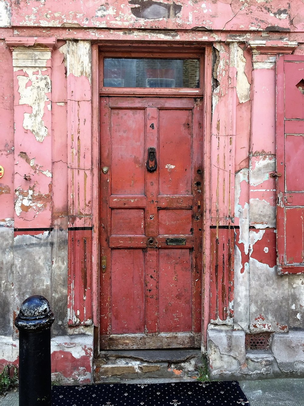 If doors could talk...I'm sure this one would have many stories to tell.