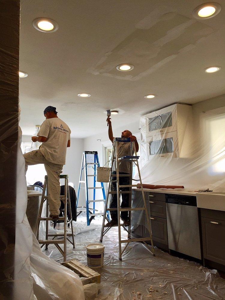 Drywall and lighting