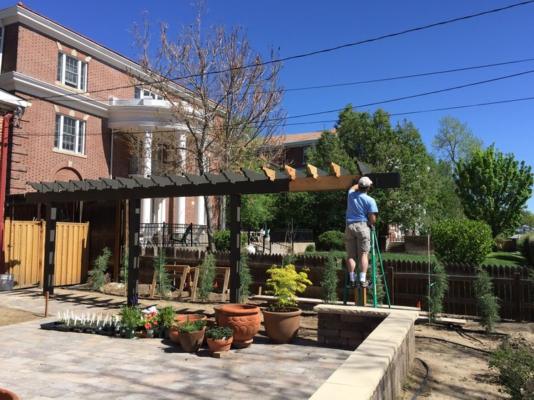 1875 Historic Italianate Victorian-style home. Restoring exterior of the Bosler House in West Highlands Denver | Building Bluebird #italianate #historichomes